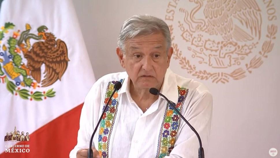 Foto: El presidente Andrés Manuel López Obrador cuestionó la intromisión que vivió en el hotel de Ciudad Valles el viernes por la noche, el 21 de julio de 2019)