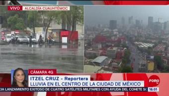 Foto: Se registra lluvia en distintos puntos de la CDMX