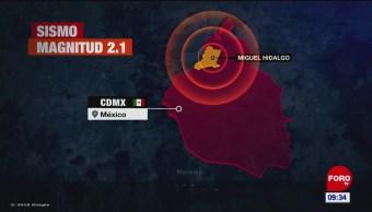 Se registran micro sismos en la CDMX