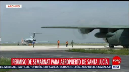 Foto: Semarnat Aval Aeropuerto Santa Lucía 25 Julio 2019