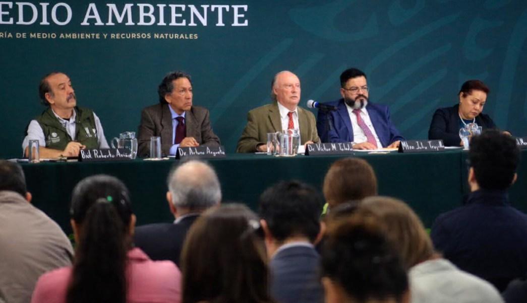 Semarnat en conferencia de prensa sobre Grupo México