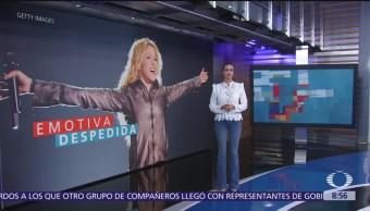 Shakira de despide de exsuegro, Fernando de la Rúa