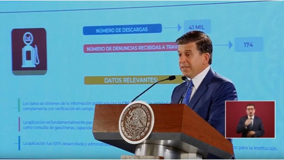 Foto: Ricardo Sheffield Padilla, titular de la Profeco, 8 de julio de 2019, Ciudad de México