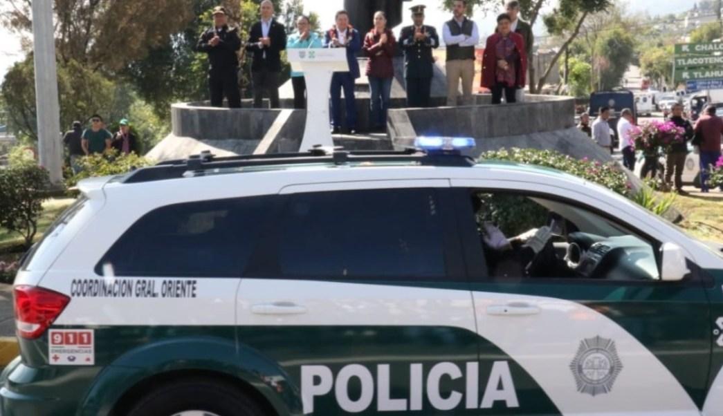 Foto: La jefa de Gobierno de la CDMX, Claudia Sheinbaum, informa que en las próximas semanas entrará la Guardia Nacional en la alcaldía Milpa Alta, el 28 de julio de 2019 (Twitter: @Claudiashein)