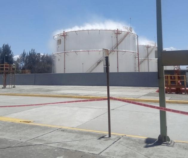 FOTO Simulacro del 2018 en San Martín Texmelucan (Twitter)
