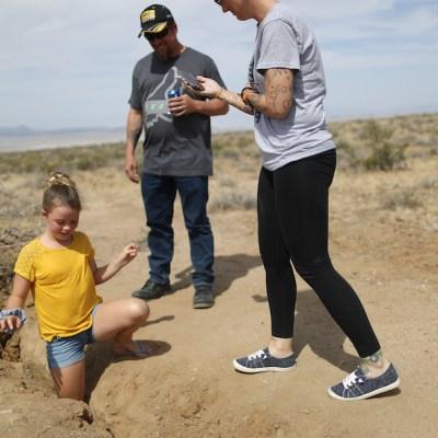 Descubren una grieta gigante en el desierto tras los sismos de California