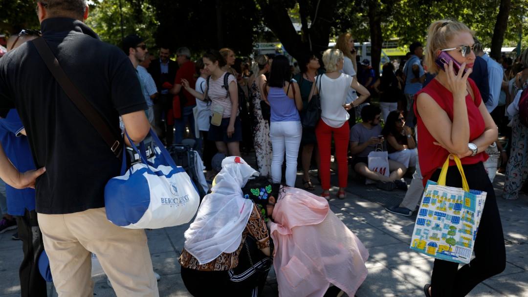 Foto: Sismo en Atenas, Grecia, 19 de julio de 2019,