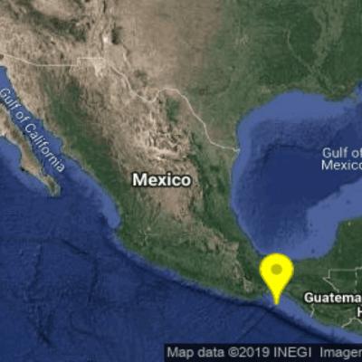 Sismo de magnitud 4.2 se registra en Salina Cruz, Oaxaca