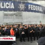 Foto: Protesta Policías Federales CDMX 3 Julio 2019