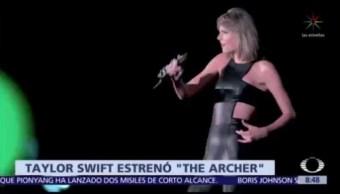 Taylor Swift estrena 'The Archer', de su nuevo álbum 'Lover'
