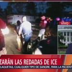 FOTO: Temor entre migrantes en Estados Unidos por redadas de ICE