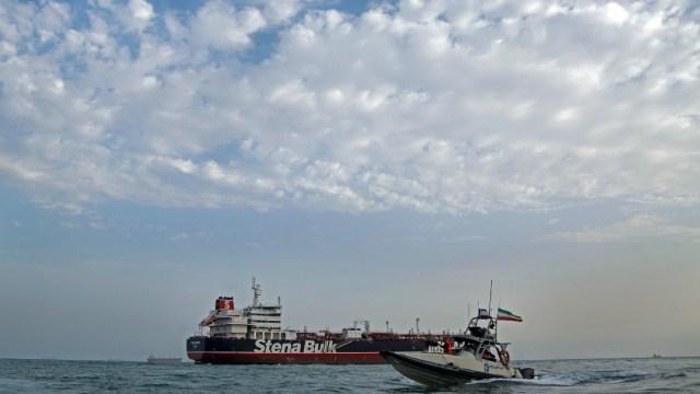 Foto: Barcos en el Golfo Pérsico, 21 de julio de 2019, Estrecho de Ormuz