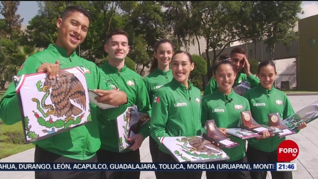 Foto: Titular Sedena Reúne Deportistas Lima Peru 19 Julio 2019