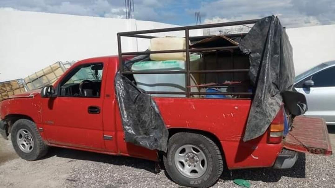 Detienen a tres hombres con combustible robado en Tlahuelilpan, Hidalgo