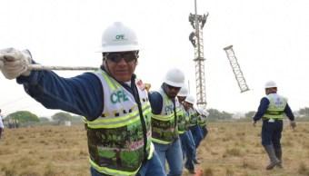 Foto: Trabajadores de la Comisión Federal de Electricidad