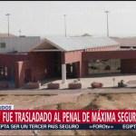 Trasladan al 'Chapo' a prisión 'supermax' en Colorado