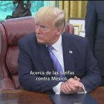 Foto: Trump Descarta Imponer Aranceles Productos Mexicanos 1 Julio 2019