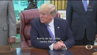 Foto: Trump Descarta Imponer Aranceles Productos Mexicanos 1 Julio 2019