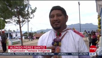 FOTO: Tzotziles realizan ceremonia para cosechas en Chiapas, 21 Julio 2019