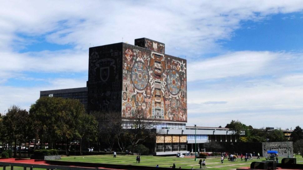 Foto: Biblioteca central de la UNAM, Ciudad de México