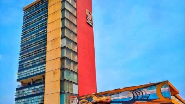Foto: Torre de Rectoría de la UNAM..(@UNAM_MX)