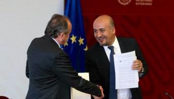 FOTO Unión Europea aporta 7 millones de euros al Plan de Desarrollo Integral para Centroamérica (SRE cdmx 4 julio 2019