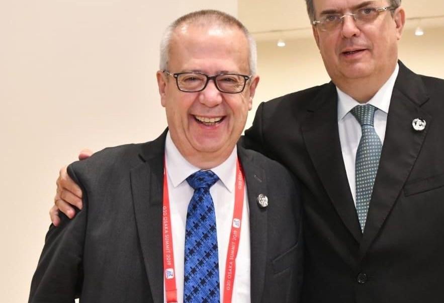 Carlos Urzúa, secretario de Hacienda y Crédito Público