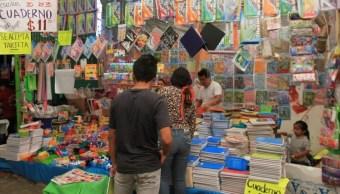 Foto; Compra de útiles escolares, Ciudad de México