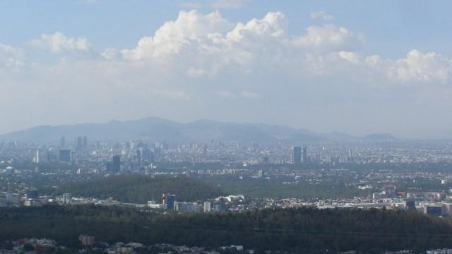 Foto: Panoramica del Valle de México, 5 de julio 2019. Twitter @Aire_CDMX