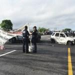 Foto: Incendian vehículos en Tabasco como amenaza a la Guardia Nacional, 1 de junio 2019. EFE