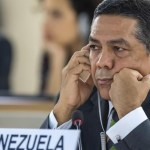 viceministro venezolano de Asuntos Exteriores, William Castillo