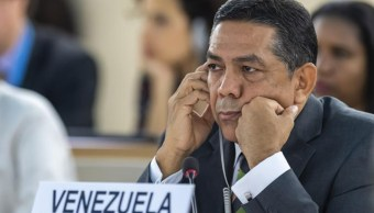 viceministro venezolano de Asuntos Exteriores, William Castillo
