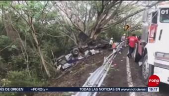 Foto: Accidente Autobús Compostela Puerto Vallarta Nayarit 18 Julio 2019