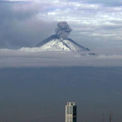 Prevén caída de ceniza del Popocatépetl en 7 alcaldías de CDMX