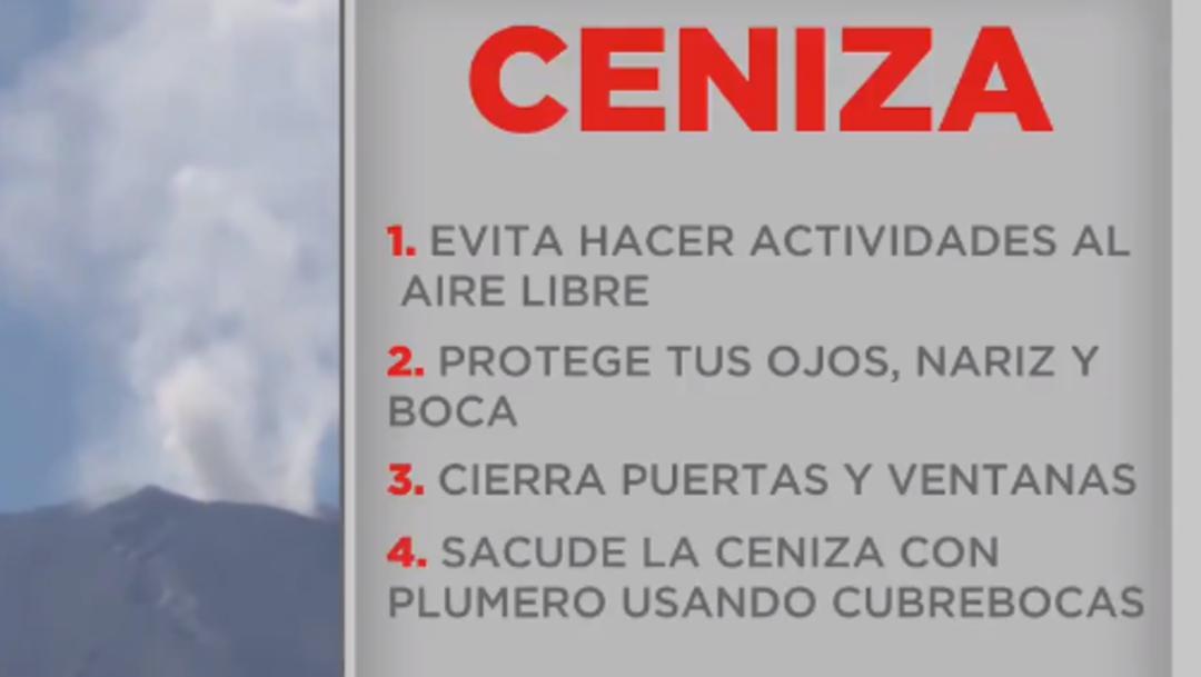 Foto: Las autoridades recomiendan evitar actividades al aire libre, 20 de julio de 2019 (Twitter @PC_Estatal)