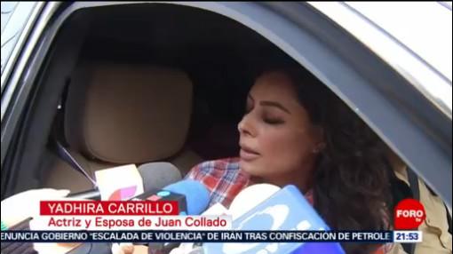 FOTO: Yadhira Carrillo visita a su esposo Juan Collado, 20 Julio 2019