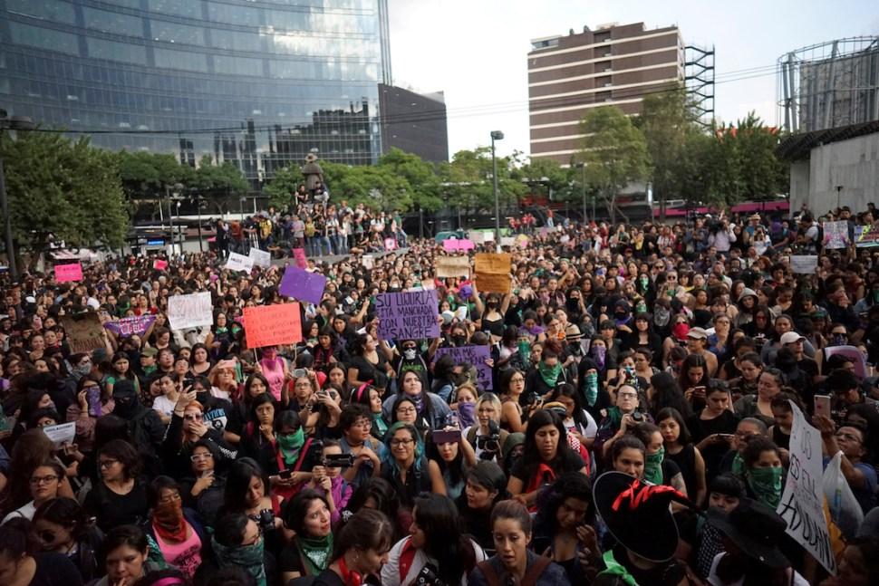 Foto:Protesta del 16 de agosto desde Ciudad de México. 18 agosto 2019
