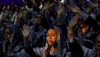Foto: Iglesia la Luz del Mundo celebra segundo día de la Santa Convocación, el 12 de agosto de 2019. (EFE)
