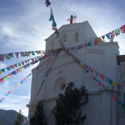 Reabren templo afectado por sismo en Chiapas