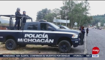 Abandonan restos de 19 personas en Uruapan, Michoacán