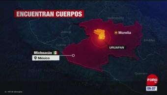 Abandonan restos humanos en Uruapan, Michoacán