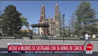 Foto: Acoso Mujeres Se Castigará 36 Horas Cárcel Chihuahua