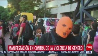 FOTO: Actos vandálicos en marcha de mujeres duran más de 3 horas, 17 Agosto 2019