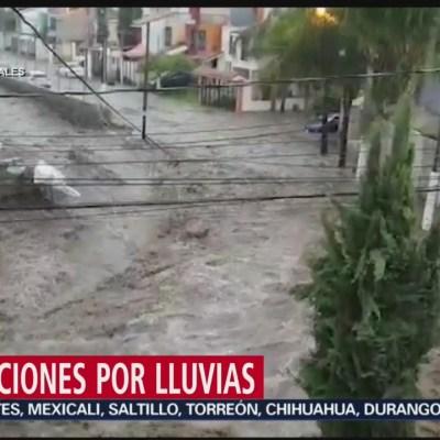 Afectaciones por lluvias en Jalisco