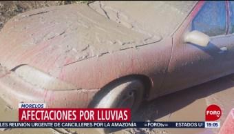 FOTO: Afectaciones por lluvias en Morelos, 24 Agosto 2019