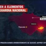 FOTO: Agreden elementos Guardia Nacional Tlaxcala