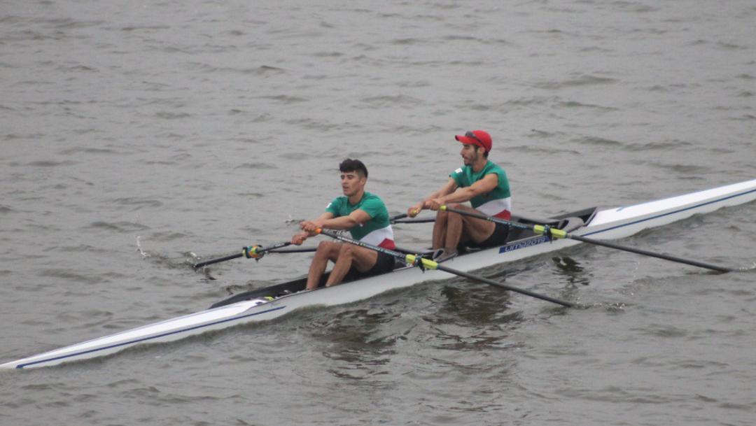 FOTO México rompe récord, suma 100 medallas en Juegos Panamericanos Lima 2019; en la imagen, Alan Armenta y Alexis López (Conade)