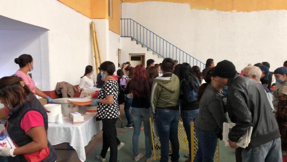 Foto: Albergue en Nextlalpan, 2 de agosto 2019, Estado de México