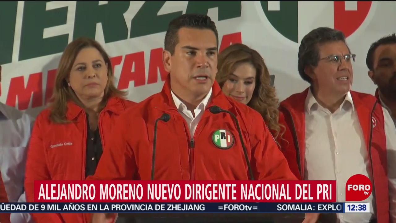 FOTO: Alejandro Moreno nuevo dirigente nacional PRI,