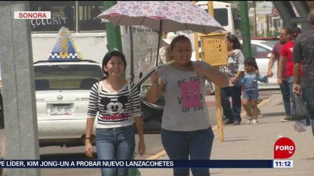 FOTO: Alerta por ola de calor en Sonora, 3 AGOSTO 2019